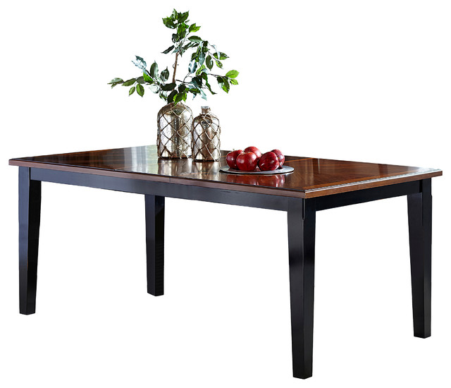 Rectangular Extension Dining Table Transitional  : transitional folding tables from www.houzz.com size 640 x 550 jpeg 51kB