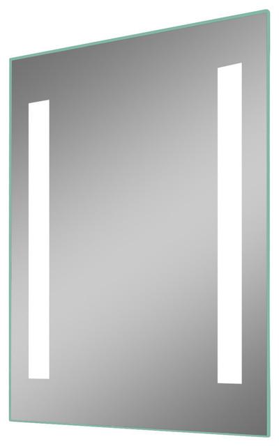 ib mirror dimmable lighted bathroom mirror verano - Lighted Bathroom Mirror