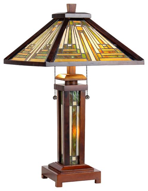 Good Alcina Table Lamp Craftsman Table Lamps