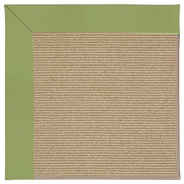 Zoe-Sisal Machine Tufted Rectangle Rug, Green