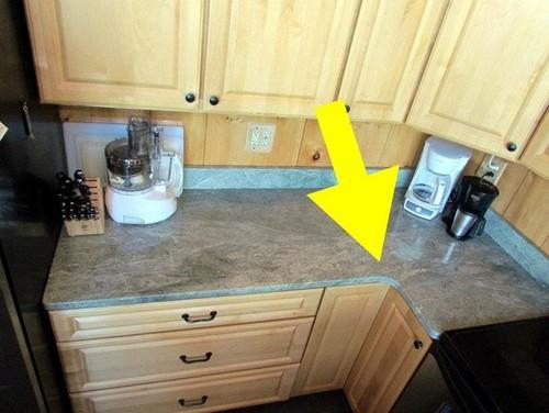 Granite Counters Round Or Square Inside Corner