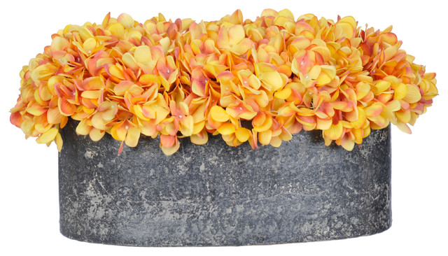 House of Silk Flowers Inc Artificial Home Decor Gold