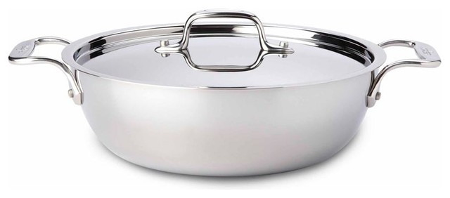 All Clad Ss Cassoulet W/ Lid.