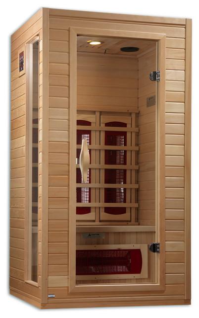Dynamic 1-2 Person Far Infrared Ceramic Sauna.