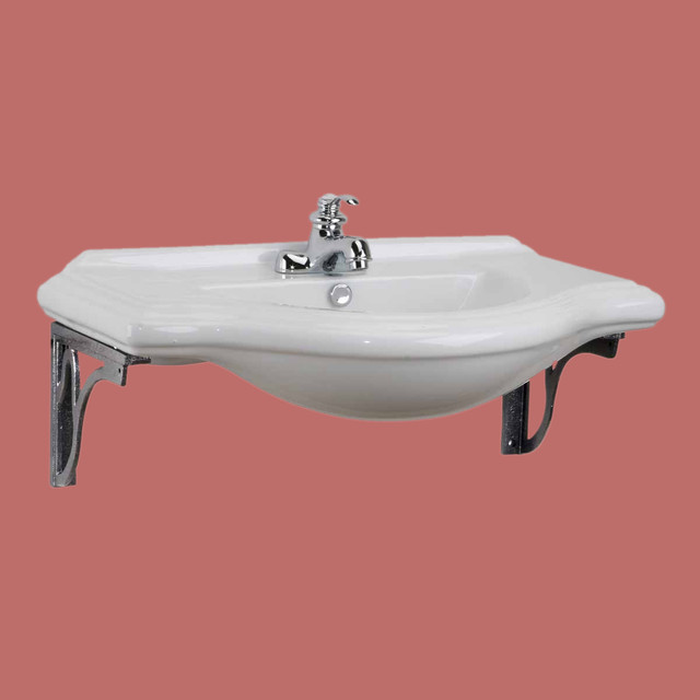 bathroom sink supports wall mount sinks large bayside sink gray metal supports 11430