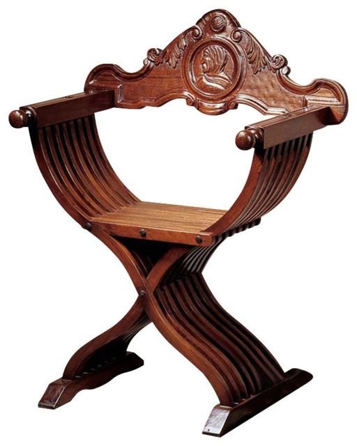 Savonarola Chair  sc 1 st  Houzz & Savonarola Chair - Victorian - Armchairs And Accent Chairs - by ...