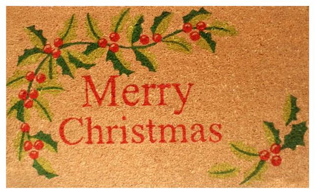 Merry Christmas Doormat.