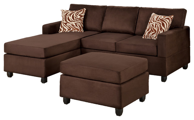 lille sectional couch with matching ottoman and accent pillows transitional sectional sofas. Black Bedroom Furniture Sets. Home Design Ideas