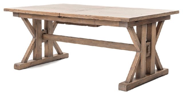 dining table with foter farmhouse explore bench