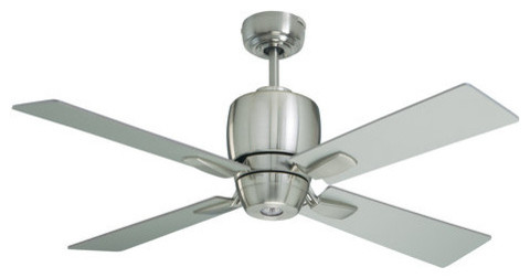 """Emerson Veloce 46"""" 4 Blade Ceiling Fan - Blades And Light Kit Included."""