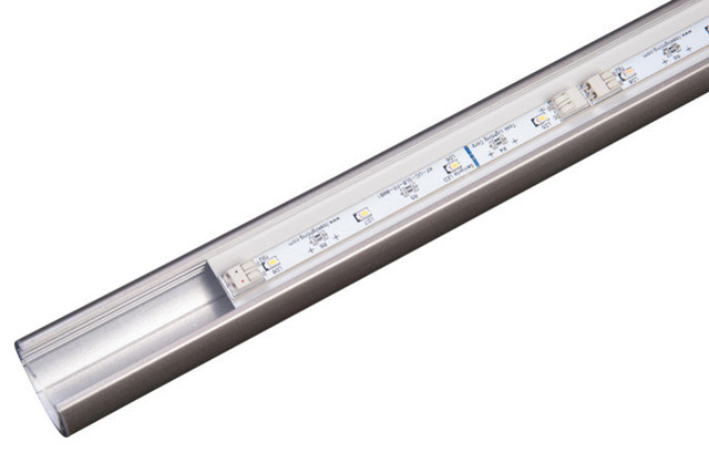 "Sempria LED Lighted Closet Rod, Satin Nickel, 24"", 3000 Kelvin"