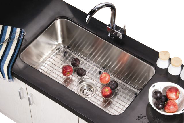 Dawn Asu106 30 Undermount Single Bowl 18 Gauge Stainless Steel Kitchen Sink