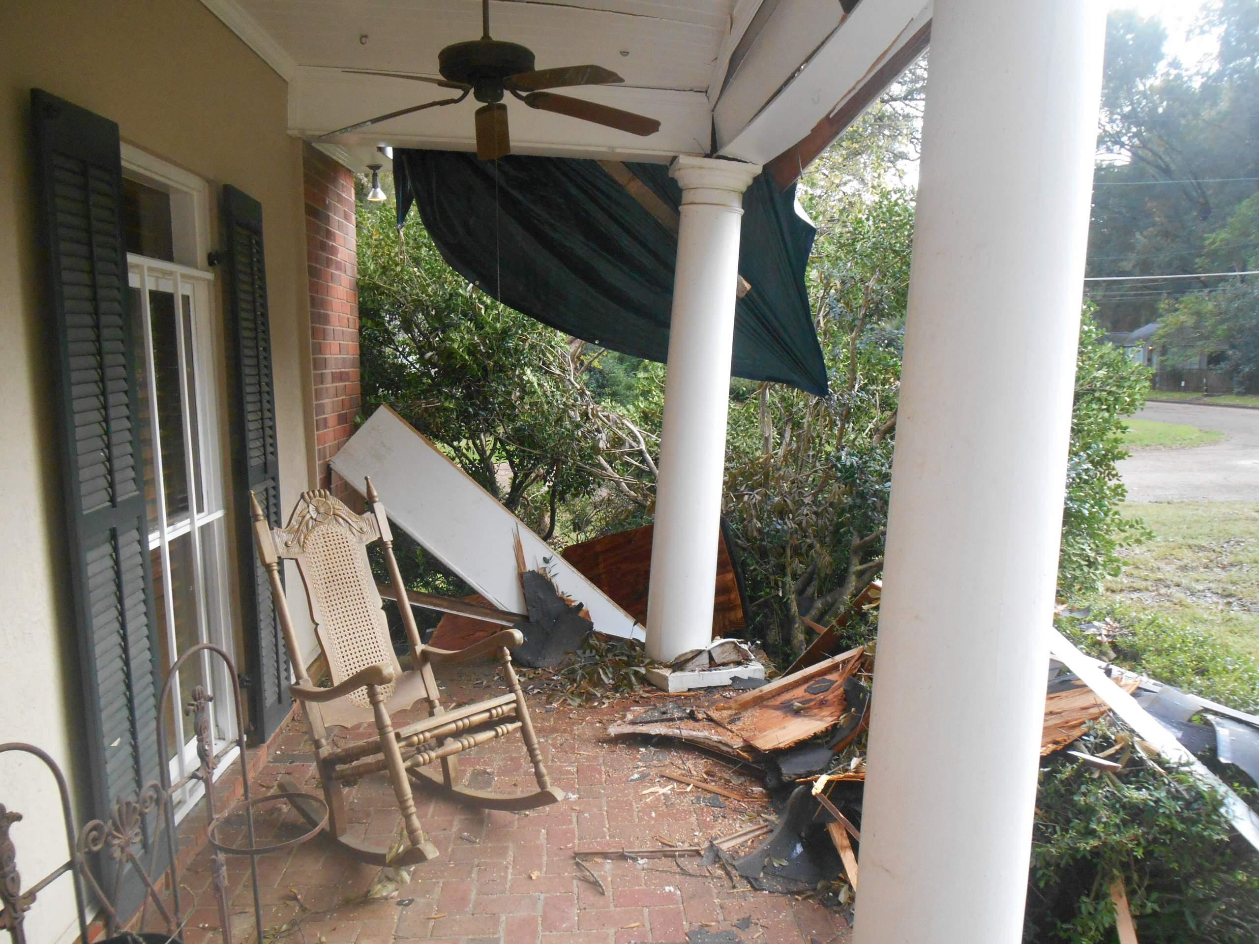 Tree Damage/Exterior Upgrade