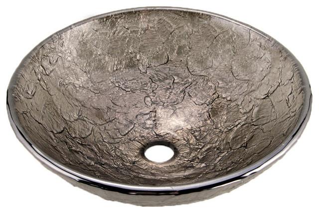 Grahm Vessel Sink, Black Nickel.