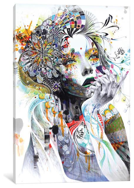 """Circulation Gallery"" by Minjae Lee, 60x40x1.5"""