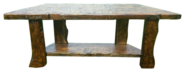 Natalie Rustic Barnwood Sofa Table Rustic Console Tables By