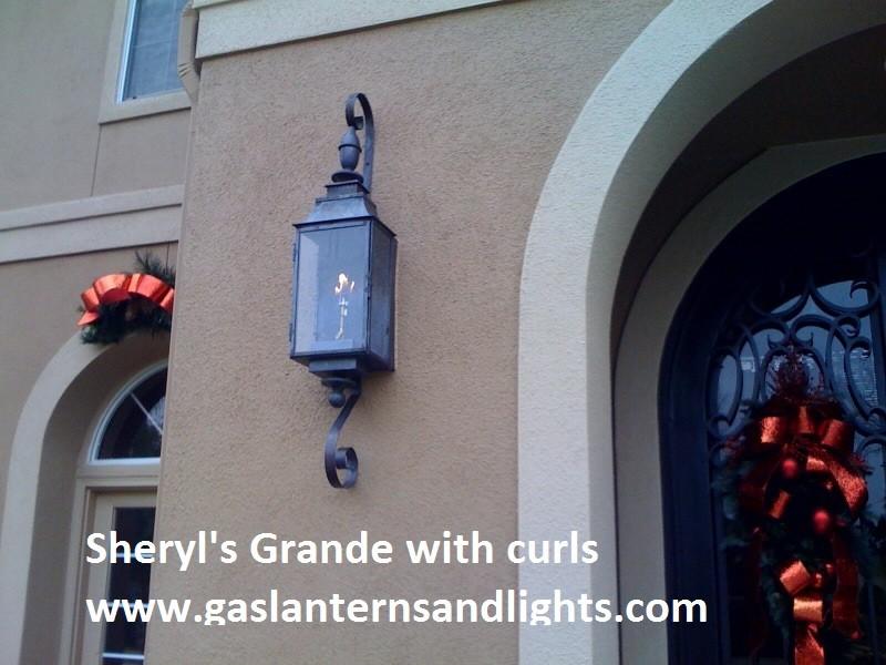 Sheryl's Grande Gas Lanterns