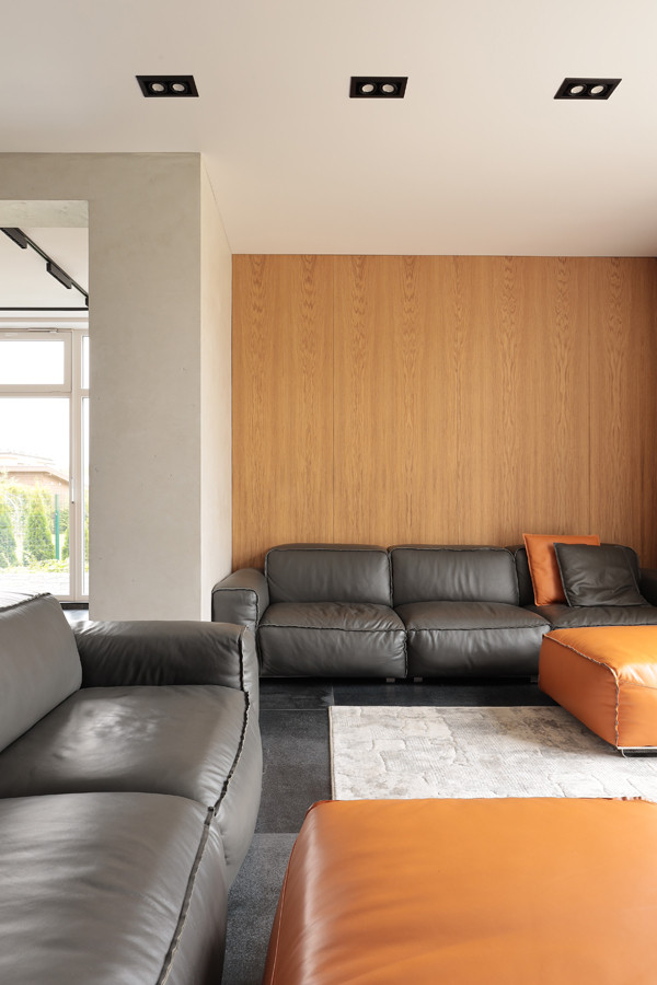 Загородный дом в современном стиле, 300м2