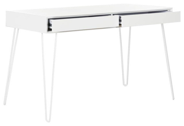 Cade Desk, White.