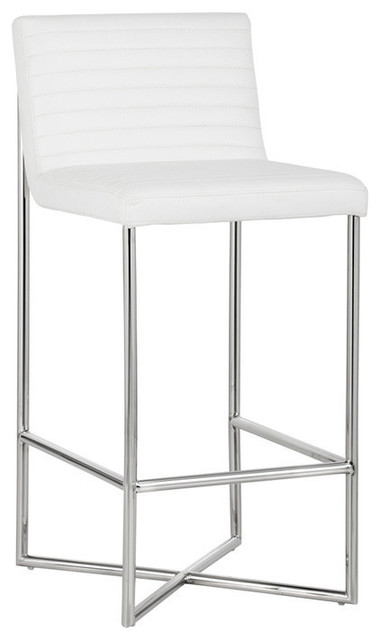 Excellent Gal Stool White Bar Height Gmtry Best Dining Table And Chair Ideas Images Gmtryco