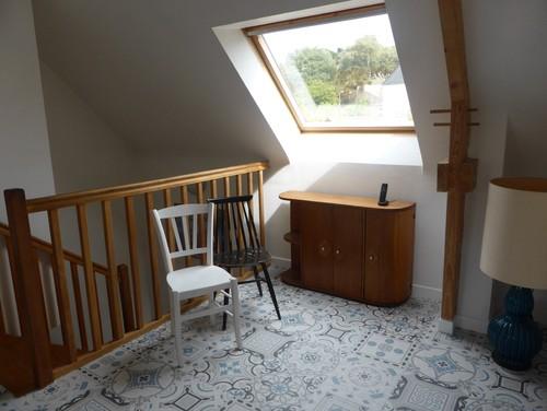 Choix de couleur escalier et couloir for Peindre plinthes bois
