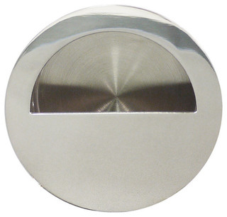 Inox Round Flush Pull   Contemporary   Cabinet And Drawer Handle Pulls   By  Direct Door Hardware