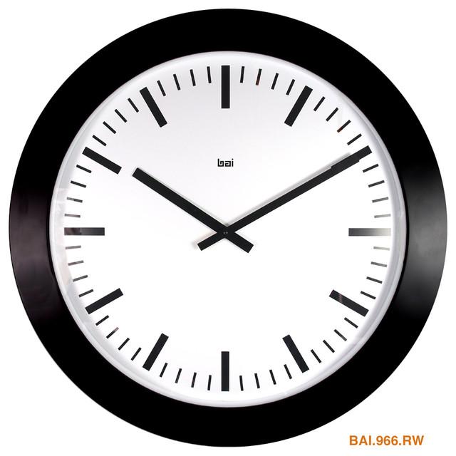 26 Quot Magnum Wall Clock Swiss Railway Wall Clocks By Bai