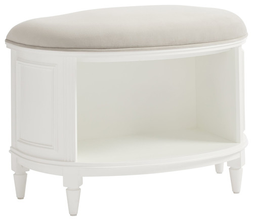Stone & Leigh Clementine Court Storage Bed Bench in Frosting 537-23-75