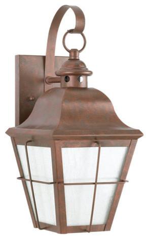 Sea Gull Lighting 8463D-44 Dark Sky Chatham Outdoor Wall Lantern