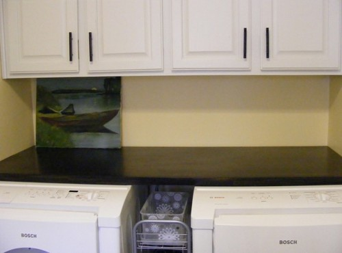 Diy Counter Over Washer Amp Dryer