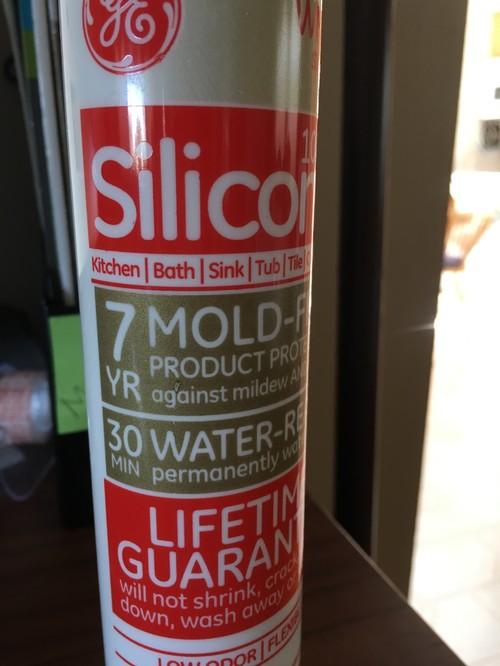 shower door leakage Caulk or silicone