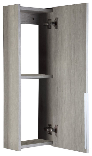 Renia Wall Mounted Linen Cabinet Contemporary Bathroom Cabinets By Bellaterra Home