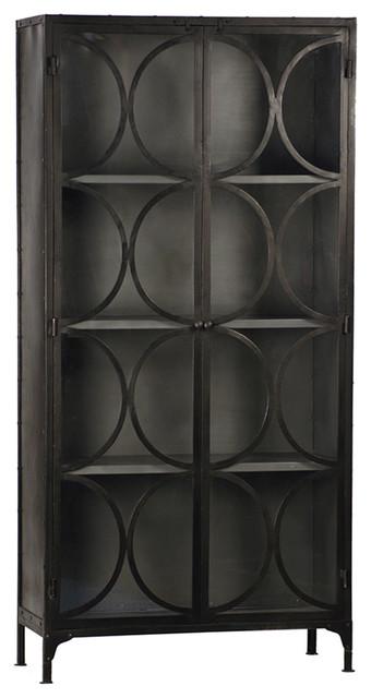 Iron Gunmetal Cabinet.