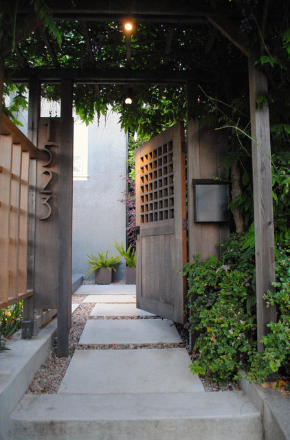 Example of a trendy home design design in San Francisco
