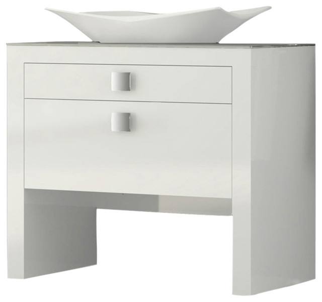 daytona 40 bathroom vanity white high gloss contemporary bathroom vanities and