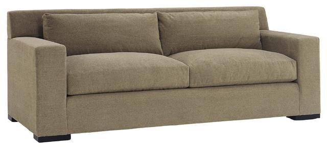 Lazar Industries Corvo 2 Seater Sleeper Sofa in Woolco Taupe