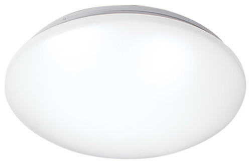 Glo 1-Light Flush Mounts, White