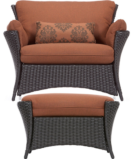 Phenomenal Strathmere Allure 2 Pc Set Oversized Armchair And Ottoman Squirreltailoven Fun Painted Chair Ideas Images Squirreltailovenorg