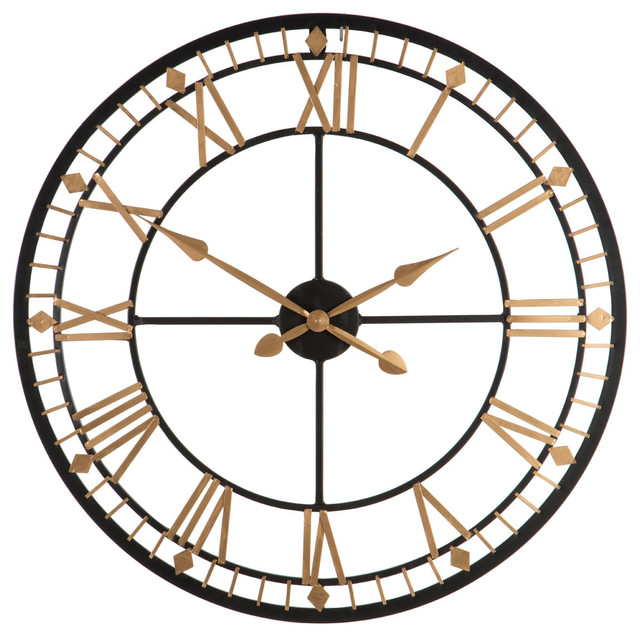 Premier Housewares Traditional Wall Clock