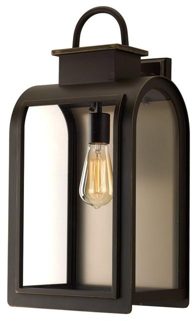 Luxury Art Deco Porch Light Chesterfield Series Oil Rubbed Bronze