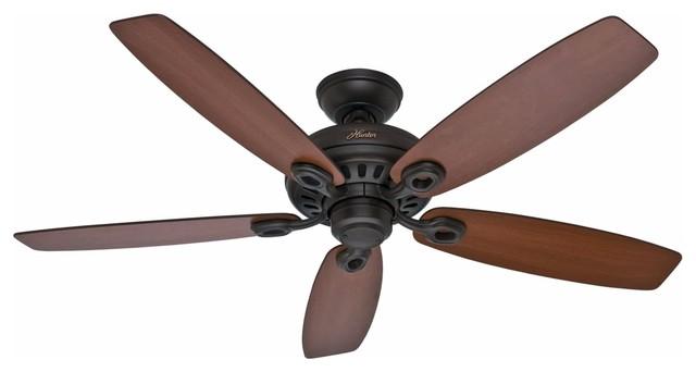 Hunter Markham 52 Energy Star Indoor Ceiling Fan, New Bronze.