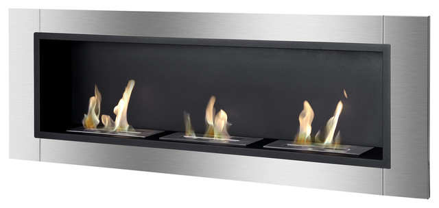 Ardella Wall Mounted / Recessed Ventless Ethanol Fireplace.