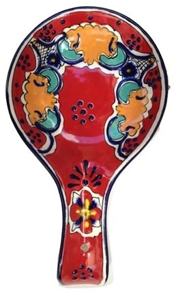Talavera Spoon Rest.