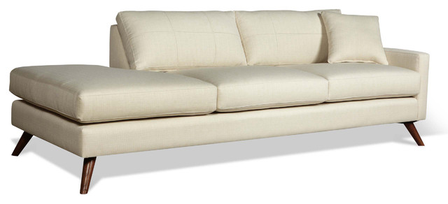 Dane 94 One Arm Sofa With Chaise