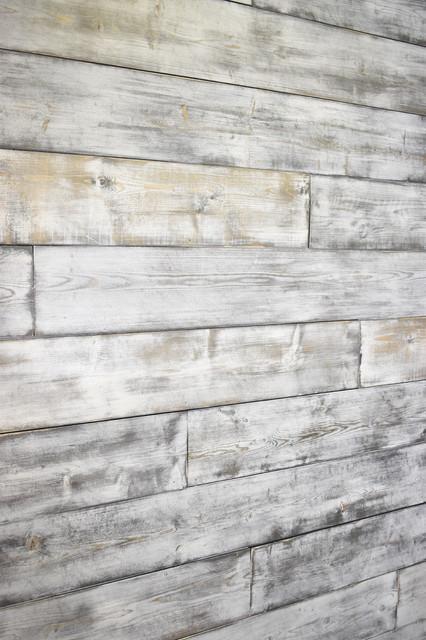 Shiplap Wood Wall, Weathered White/gray, 96 Board Length, 25sqft.