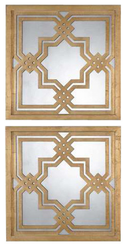 Uttermost Piazzale Mirrors, Set Of 2.