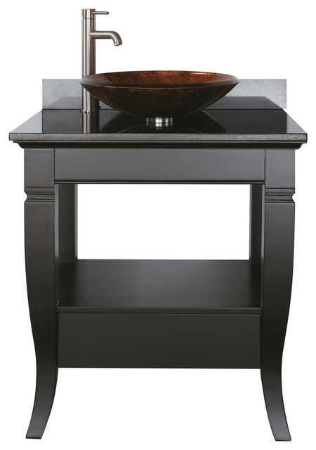 Vessel sink vanity combo roselawnlutheran for Bathroom sink and cabinet combo