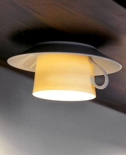 Anthologie Quartett - Coffee ceiling light