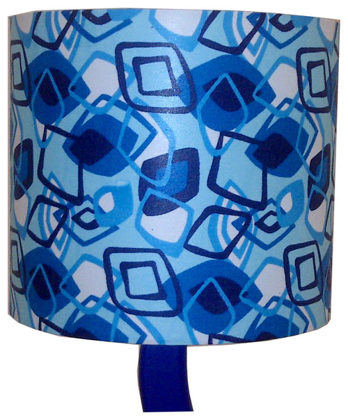 Blue Diamonds Lampshade  by Detola & Geek