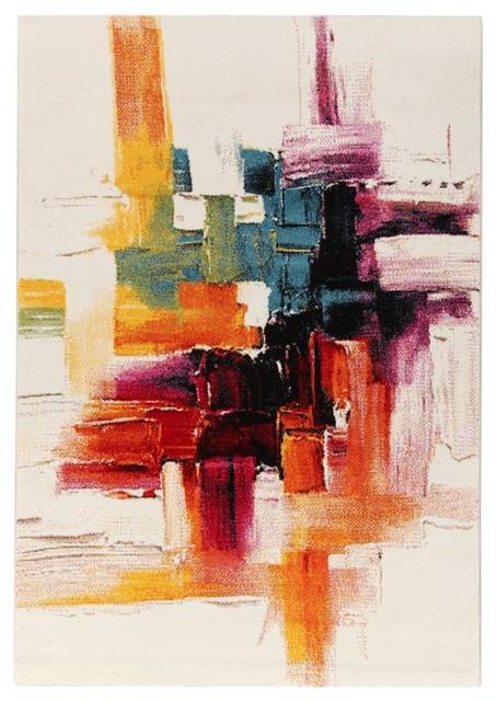 Gallery Brushstroke Floor Rug, 135x190 cm